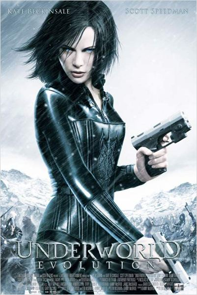 Underworld 2 - Evolution : affiche Kate Beckinsale, Len Wiseman