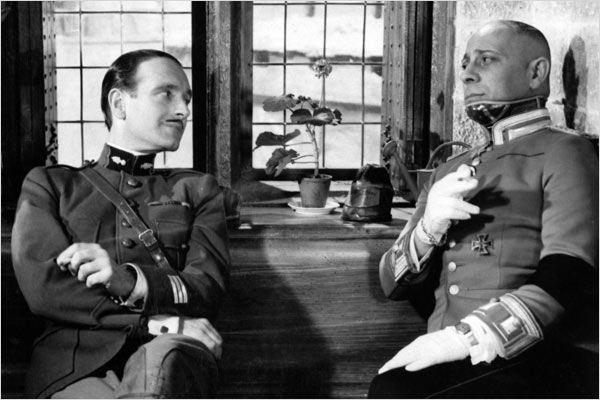 La grande illusion : Photo Erich Von Stroheim, Jean Renoir, Pierre Fresnay