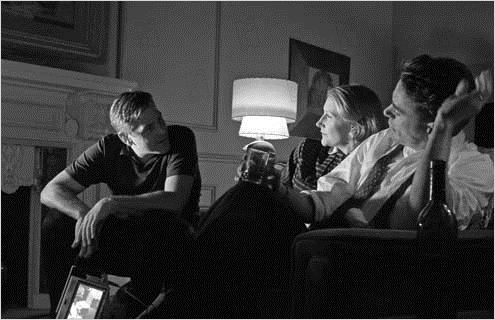 Good Night, and Good Luck. : Photo George Clooney, Patricia Clarkson, Robert Downey Jr.