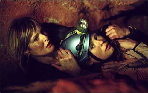 The Descent : Photo Myanna Buring, Neil Marshall, Saskia Mulder