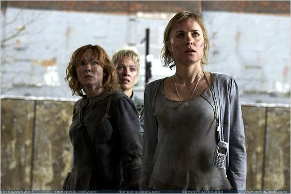 Silent Hill : photo Alice Krige, Christophe Gans, Laurie Holden, Radha Mitchell