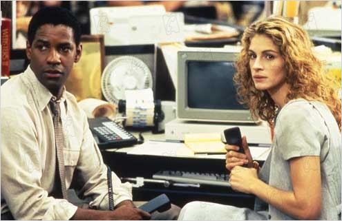 L'Affaire Pélican : Photo Alan J. Pakula, Denzel Washington, Julia Roberts