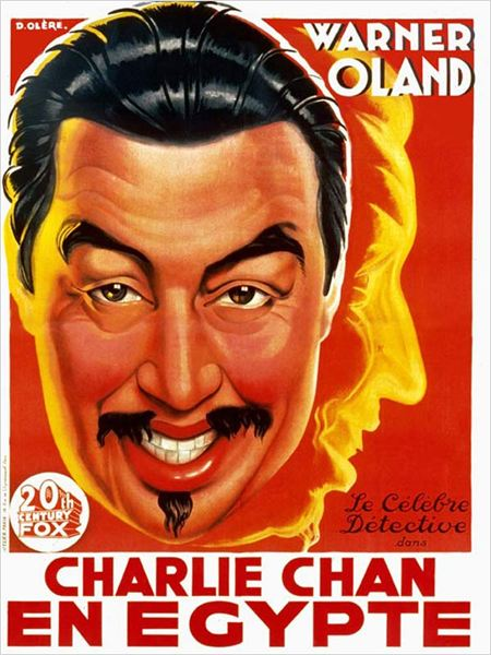 Charlie Chan en Egypte : affiche