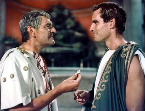 Ben-Hur : photo Charlton Heston, Jack Hawkins, William Wyler