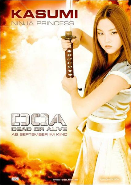 Dead or Alive : affiche Corey Yuen, Devon Aoki