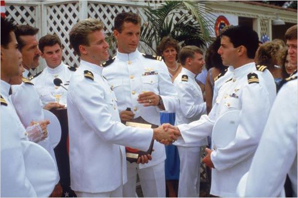 Top Gun : photo Tom Cruise, Tom Skerritt, Tony Scott, Val Kilmer