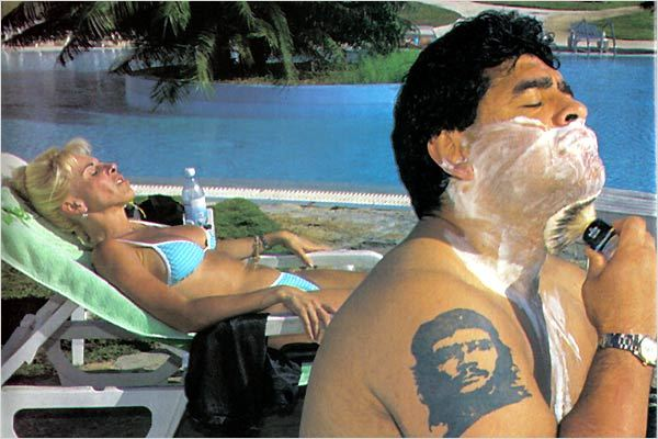 Maradona par Kusturica : photo Diego Maradona, Emir Kusturica