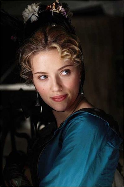 Le Prestige : photo Christopher Nolan, Scarlett Johansson