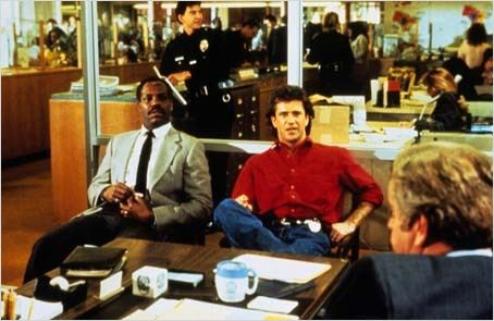 L'Arme fatale 2 : Photo Danny Glover, Mel Gibson, Richard Donner