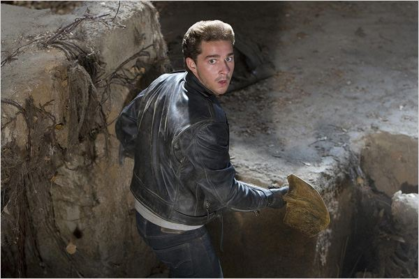 Indiana Jones et le Royaume du Crâne de Cristal : Photo Shia LaBeouf, Steven Spielberg