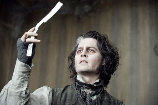 Sweeney Todd, le diabolique barbier de Fleet Street : photo Johnny Depp, Tim Burton