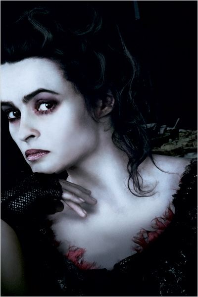 Sweeney Todd, le diabolique barbier de Fleet Street : photo Helena Bonham Carter, Tim Burton