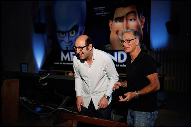 Megamind : photo Franck Dubosc, Kad Merad, Tom McGrath
