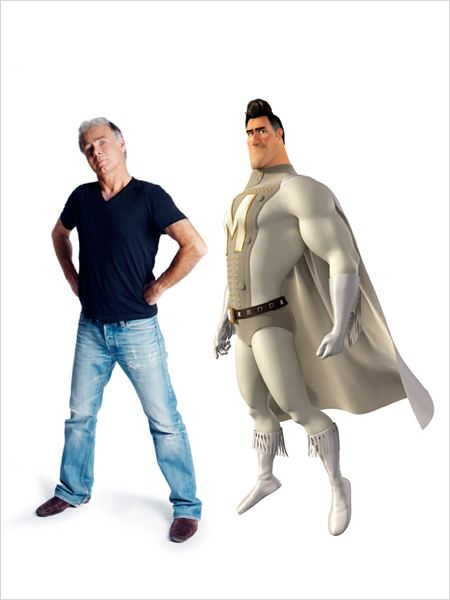 Megamind : Photo Franck Dubosc, Tom McGrath