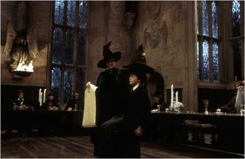Harry Potter à l'école des sorciers : photo Chris Columbus, Daniel Radcliffe, Maggie Smith