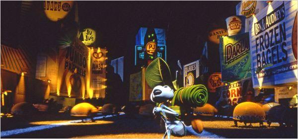 1001 Pattes : photo Andrew Stanton, John Lasseter
