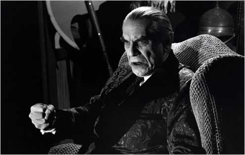 Ed Wood : photo Martin Landau, Tim Burton
