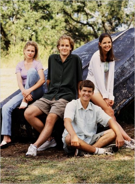 Dawson : photo James Van Der Beek, Joshua Jackson, Katie Holmes, Michelle Williams