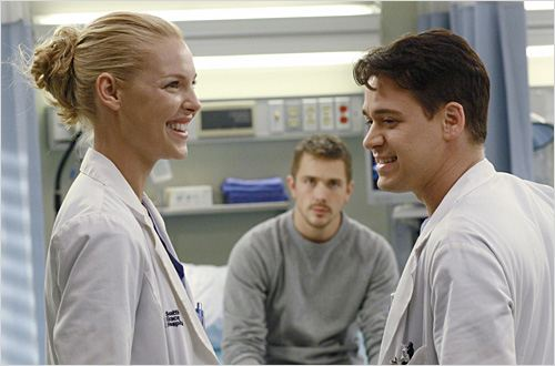 Grey's Anatomy : photo Katherine Heigl, Steve Sandvoss, T.R. Knight