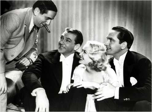 Sérénade à trois : Photo Ernst Lubitsch, Fredric March, Gary Cooper, Miriam Hopkins