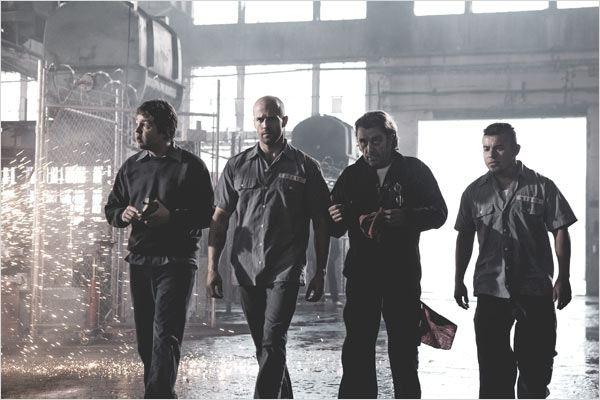 Course à la mort : Photo Frederick Koehler, Ian McShane, Jacob Vargas, Jason Statham