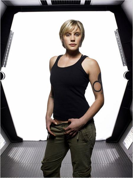 Battlestar Galactica : Photo Katee Sackhoff
