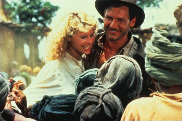 Indiana Jones et le Temple maudit : Photo Harrison Ford, Kate Capshaw, Steven Spielberg
