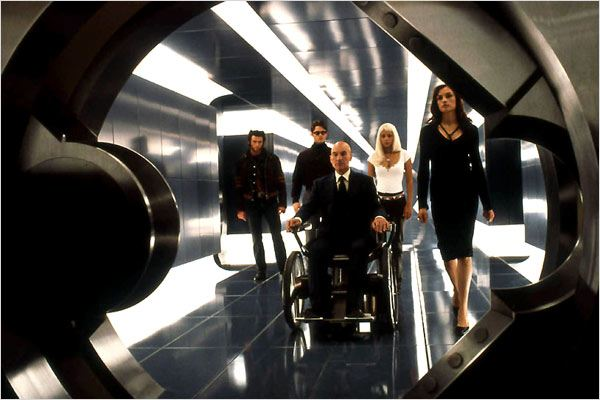 X-Men : Photo Bryan Singer, Famke Janssen, Halle Berry, Hugh Jackman, James Marsden