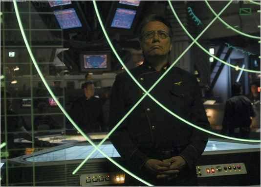 Battlestar Galactica : Photo Edward James Olmos