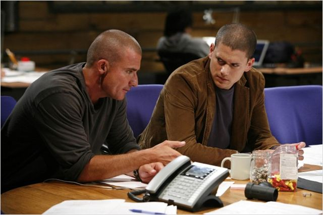 Prison Break : Photo Dominic Purcell, Wentworth Miller