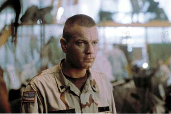 La Chute du faucon noir : photo Ewan McGregor, Ridley Scott