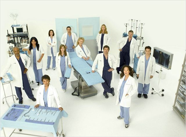 Grey's Anatomy : Photo Brooke Smith, Chandra Wilson, Chyler Leigh, Ellen Pompeo, Eric Dane