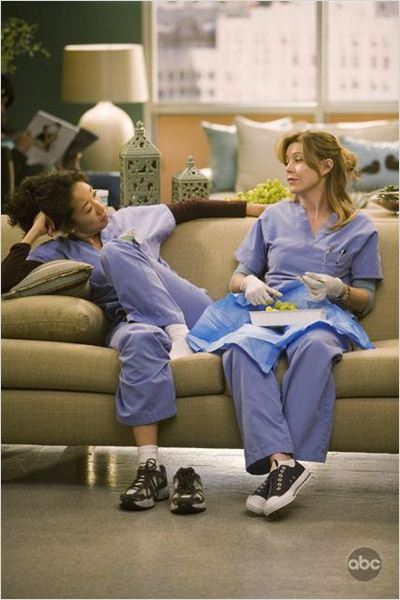 Grey's Anatomy : photo Ellen Pompeo, Sandra Oh