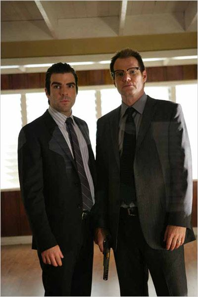 Heroes : Photo Jack Coleman, Zachary Quinto
