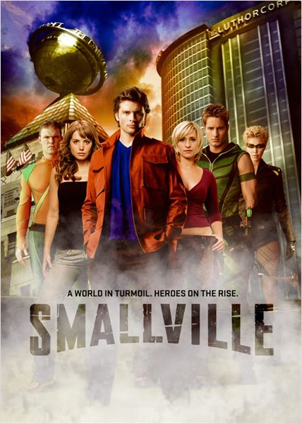 Smallville : Photo Alaina Huffman, Alan Ritchson, Allison Mack, Erica Durance, Justin Hartley