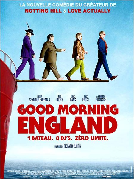 Good Morning England : Affiche Richard Curtis