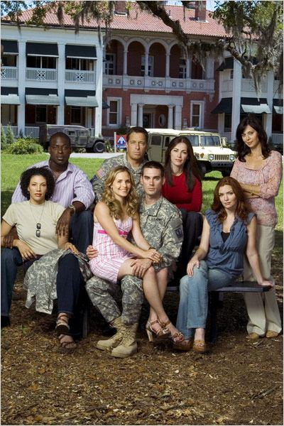 American Wives : Photo Brian McNamara, Brigid Brannagh, Catherine Bell, Drew Fuller, Kim Delaney