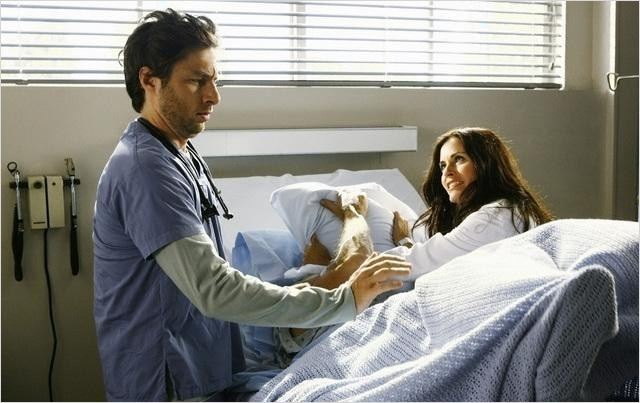 Scrubs : Photo Courteney Cox, Zach Braff