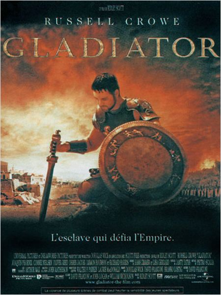 Gladiator : Affiche Ridley Scott