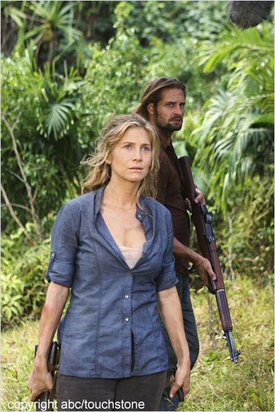 Lost, les disparus : photo Elizabeth Mitchell, Josh Holloway