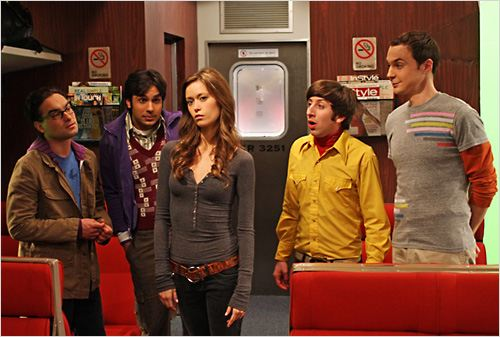 The Big Bang Theory : Photo Jim Parsons, Johnny Galecki, Kunal Nayyar, Simon Helberg, Summer Glau
