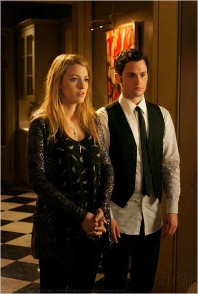 Gossip Girl : Photo Blake Lively, Penn Badgley