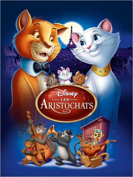 Les Aristochats : affiche