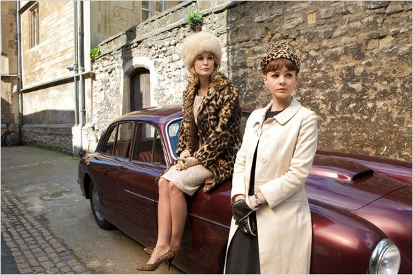 Une éducation : photo Carey Mulligan, Lone Scherfig, Rosamund Pike