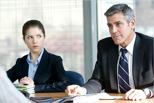 In the Air : photo Anna Kendrick, George Clooney, Jason Reitman