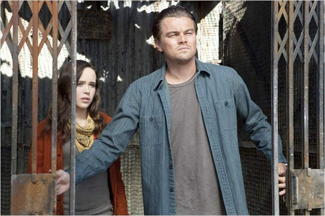 Inception : Photo Christopher Nolan, Ellen Page, Leonardo DiCaprio