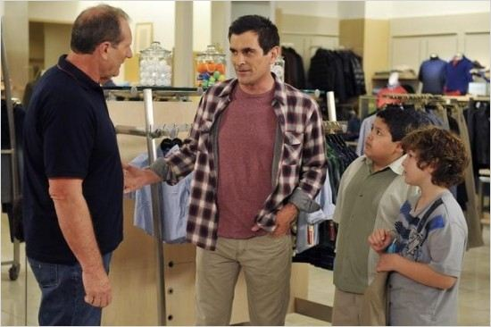 Modern Family : Photo Ed O&#39;Neill, Nolan Gould, Rico Rodriguez, Ty Burrell