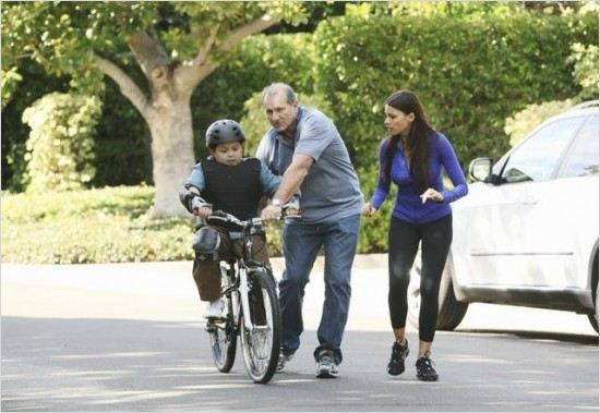 Modern Family : Photo Ed O&#39;Neill, Rico Rodriguez, Sofia Vergara