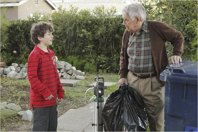 Modern Family : photo Nolan Gould, Philip Baker Hall