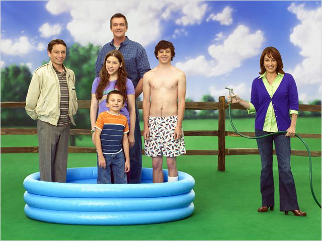 The Middle : Photo Atticus Shaffer, Charlie McDermott, Chris Kattan, Eden Sher, Neil Flynn